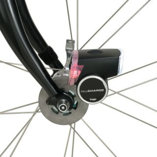 Bike Charge light USB dynamo generator bicycle phone camera gps satnav