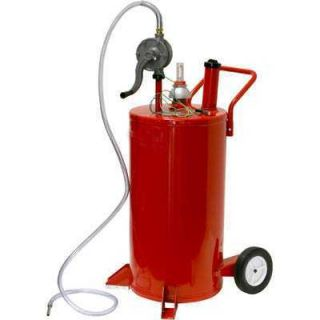 PORTABLE ROLLING DIESEL BULK FUEL GAS TRANSFER STORAGE PUMP OIL TANK