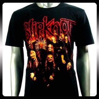 Slipknot Rock Punk Band Music Rider Men T shirt Sz XL Heavy Metal