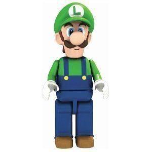 Knex Lego Nintendo Mario Kart Wii Super Luigi Figure 38027