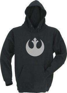 STAR WARS rebel Alliance Hoodie, alliance symbol(Medium)