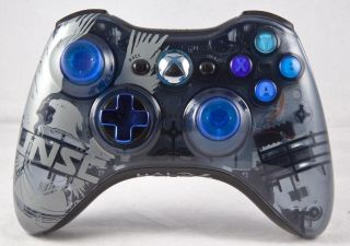 DROP SHOT MODDED CONTROLLER XBOX 360 JITTER MOD RAPID FIRE HALO 4 UNSC
