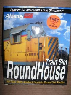Abacus Software Train Sim RoundHouse~Add on for Microsoft Train