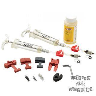 New Avid Pro bleed kit (DOT 5.1), Avid disc brakes
