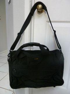 TUMI Black Ballistic Nylon Expandable Briefcase Bag USA