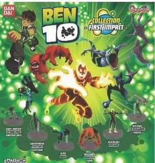 Ben 10 Figures (set of 3)