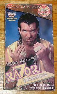 1995 WWF video Razor Ramon Scot Hall VHS WWE HBK Shawn Michaels Jeff