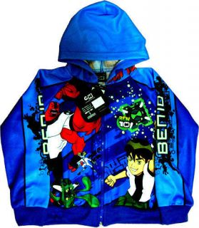 BEN 10 Childrens Kids Boys Jacket Coat Size XS Age 2 3