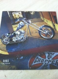 West Coast Choppers Jesse James WCC CFL Calendar 2006