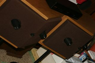 bose 901 series VI speaker pair with the right eq and stands in mint