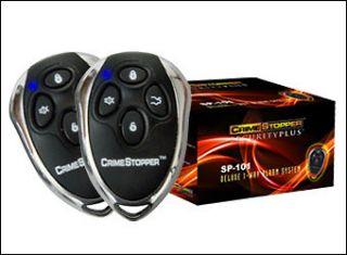 CRIME STOPPER SP 101 UNVRSL REMOTE CAR ALARM SECURITY SYSTEM