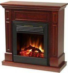 NEW Complete Electric Fireplace with Cherry Mantel by PurATron! Watts
