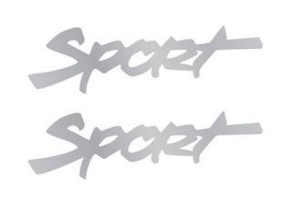 Jeep Wrangler SPORT vinyl decal sticker Replacement 2 X