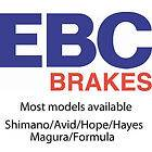 EBC Disc Brake Pads   Sintered Gold Compound   Pair