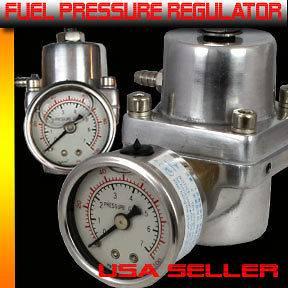 Newly listed Fuel Pressure Regulator liquid filled Gauge Lancer Evo
