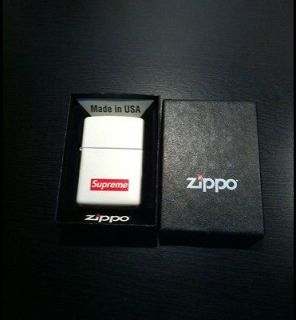 SUPREME BOX LOGO ZIPPO LIGHTER SOLD OUT Kate Moss Nike sb Levi Floral