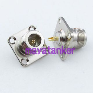 Newly listed 2pcs N Female jack Panel Mount Chassis PCB RF Connector