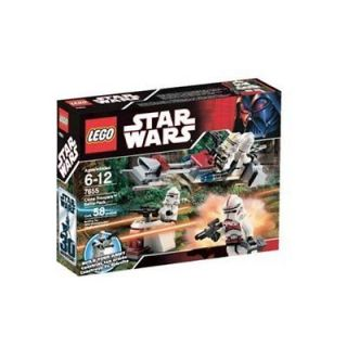 LEGO 7655 STAR WARS CLONE TROOPER BATTLE PACK NEW SEALED BUILD YOUR