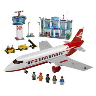 LEGO 3182 City Airport Air Plane Modular Build Easy Start