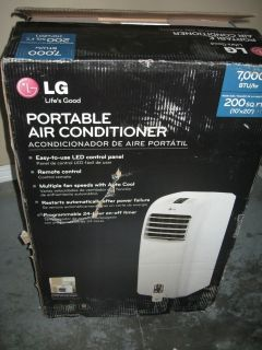 LG Electronics 7,000 BTU Portable Air Conditioner Dehumidifier
