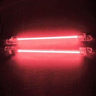 15cm Dual Cold Cathode Red CCFL Neon Light Mod Kit PC Computer Bright