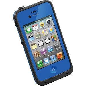 New Lifeproof Waterproof Cases Blue and Purple Apple iPhone 4 4S NIB