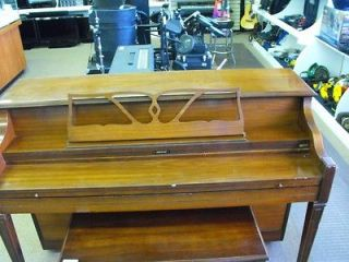 Upright Console Piano by Grand with Piano Bench GREAT DEAL!!