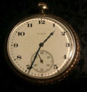 Very nice antique Elgin Pocket Watch (works great, estate find)