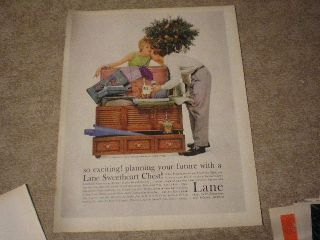 1959 Lane Sweetheart Cedar Hope Chest Large Ad