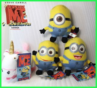 Me Minion Unicorn Character Plush Toy Stuffed Animal Figure Teddy