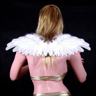 White Feather Angel Wings Halo halloween costume party Fairy photo