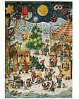 Advent Calendar Made In Germany Glittered Elves Fair Christmas