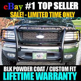 97 04 Ford F150 / Expedition 4X4 4WD Grill Brush Guard (Fits F 150)