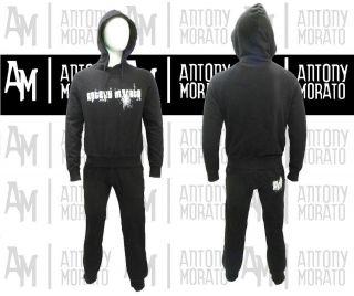 NEW MENS ANTONY MORATO DESIGNER BLACK/NERO TRACKSUIT ALL SIZES SALE