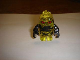 LEGO Power Miners Minifigure Rock Monster COMBUSTIX lava Trans yellow