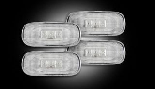 RECON 264131CL   02 09 Dodge RAM; Dually Fender Lights; Clear