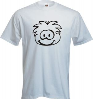 kids puffle club penguin t shirts hoody any age colour