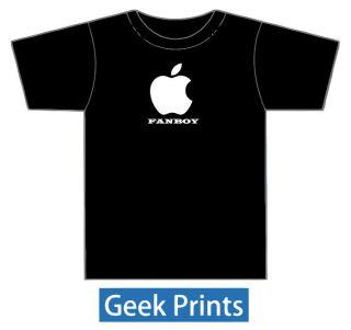 Apple Fanboy Funny ipad 2 ipod Steve Jobs Vinyl T shirt