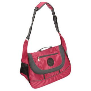 SHERPA Sport Sack Pet Dog Cat Carrier Tote Purse M Pink   12lbs