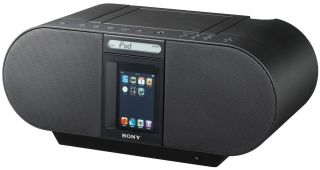 Sony Portable CD/Radio Player Music Boombox for Apple iPod iPhone Dock