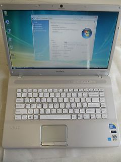 Sony Vaio laptop 15.5 VGN NW150J/S 2.1GHz 4GB 500GB HDD
