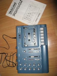 Tascam Porta/02MKII Digital Multi Track Recorder AS IS NEEDS WORK
