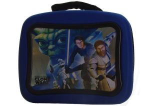 Star Wars Clone Boys Insulated Kit Lunch Box Bag Hard Shell Thermos