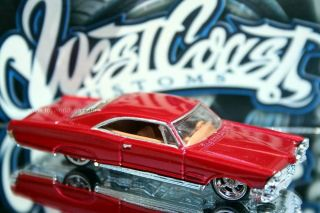 Hot Wheels West Coast Customs Series 65 Pontiac Bonneville