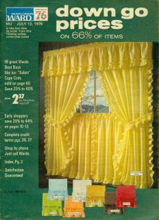 1976 Montgomery Ward Catalog Summer Sale