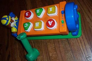 VTECH CODY CARPENTER MUSIC LIGHT HAMMER TOOL BENCH TOY