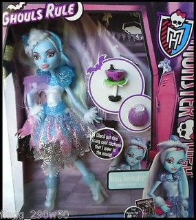 Newly listed *Monster High* GHOULS RULE ABBEY BOMINABLE DOLL