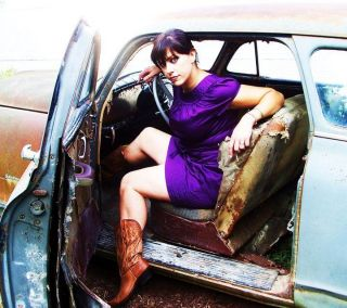 Sexy American Pickers Danielle Colby Cushman In Car Refrigerator