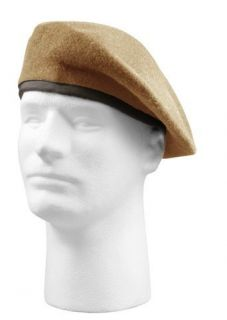 MILITARY INSPECTION READY WOOL ARMY BERETS