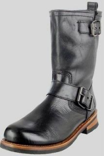 New in Box   $190.00 STEVE MADDEN Bard Black Leather Boots Mens Size